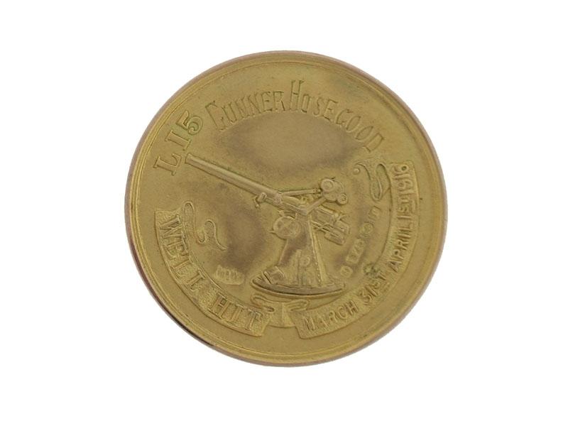 Gold Award for Shooting Down Zepplein L15