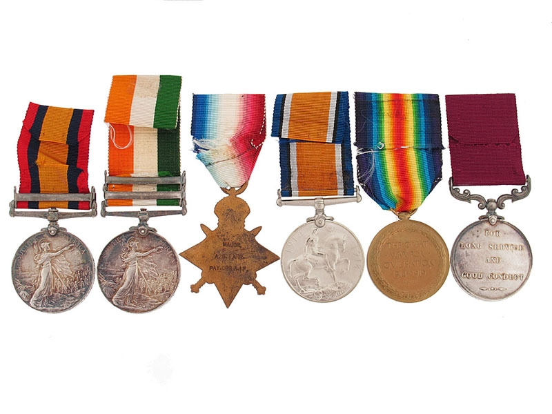 Lieutenant-Colonel A.G. Farr - Australian Army Pay Corps