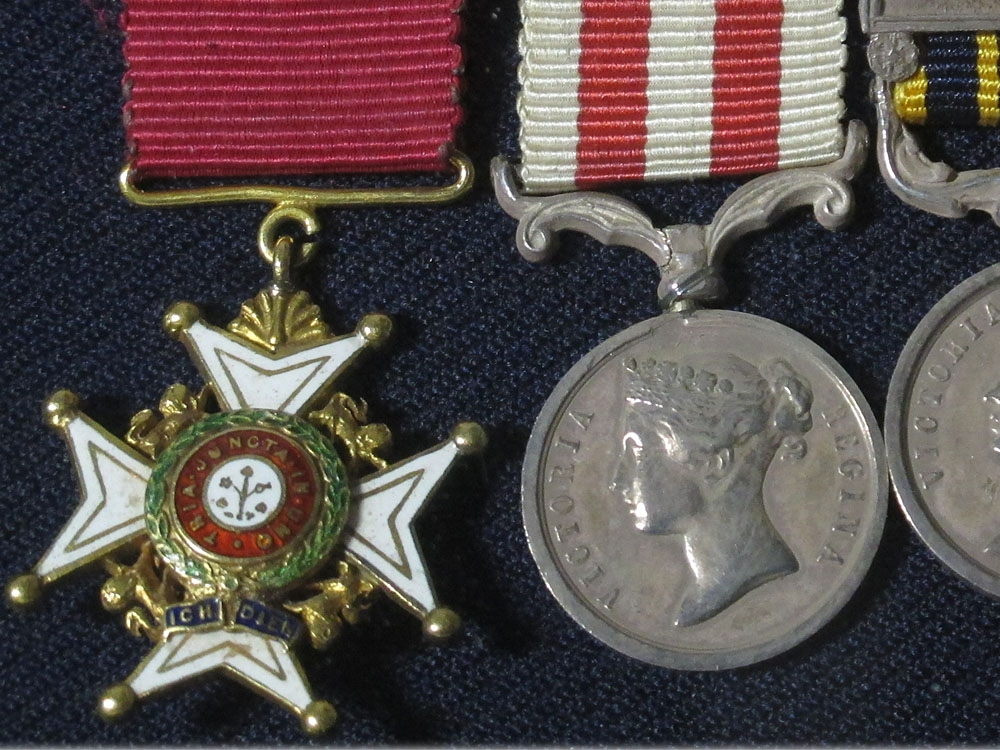 The Miniature Awards of Major General Sir Matthew William Edward Gosset K.C.B.