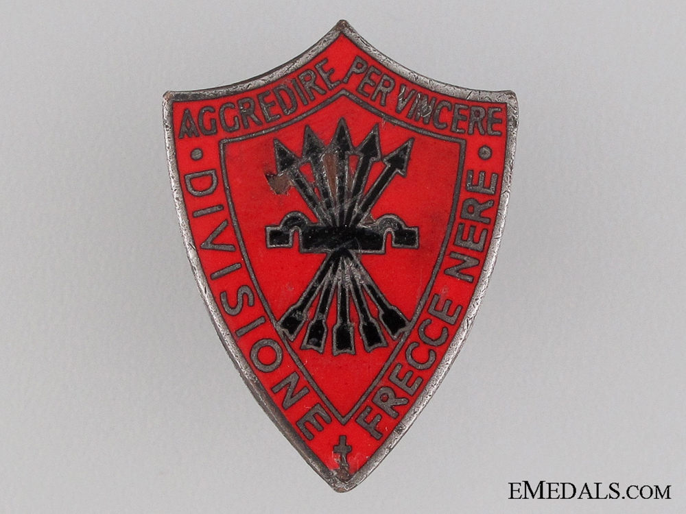 Black Arrows Division Falange Badge