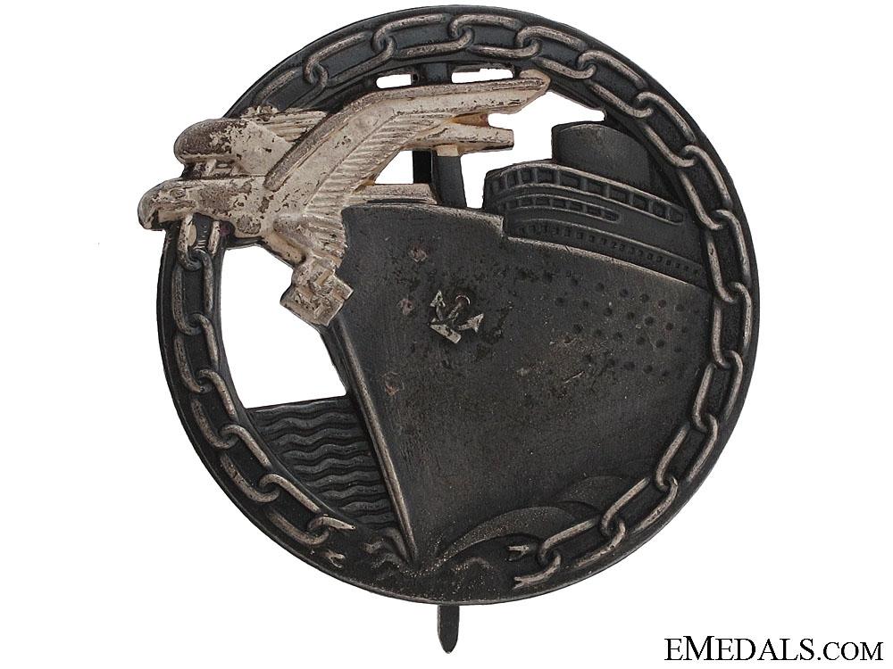 Blockade Runner Badge by Schwerin  Cost: 300