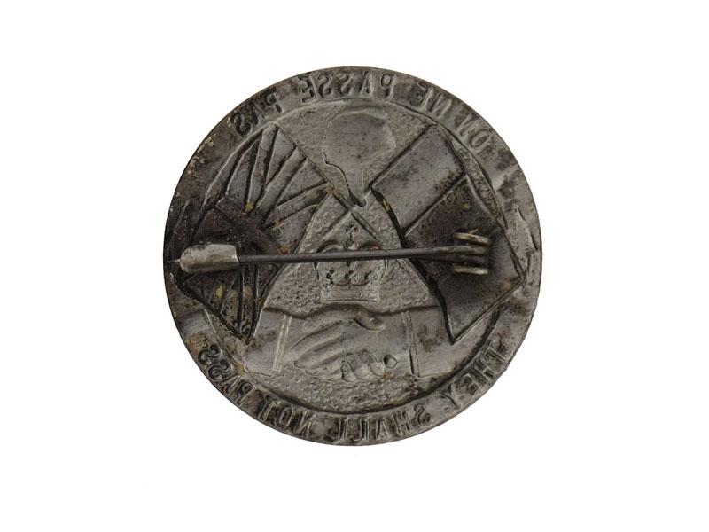WWI Verdun Commemorative Badge