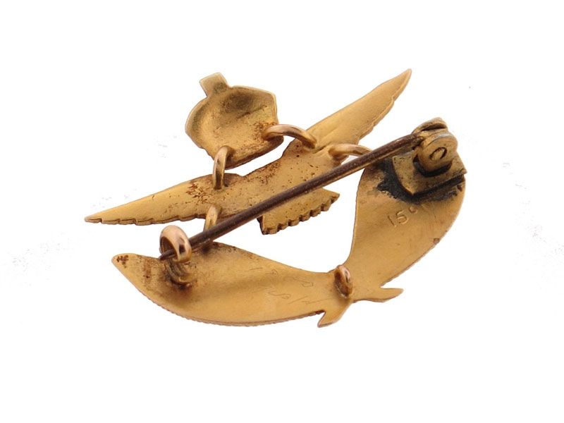 Royal Air Force Pin in Gold