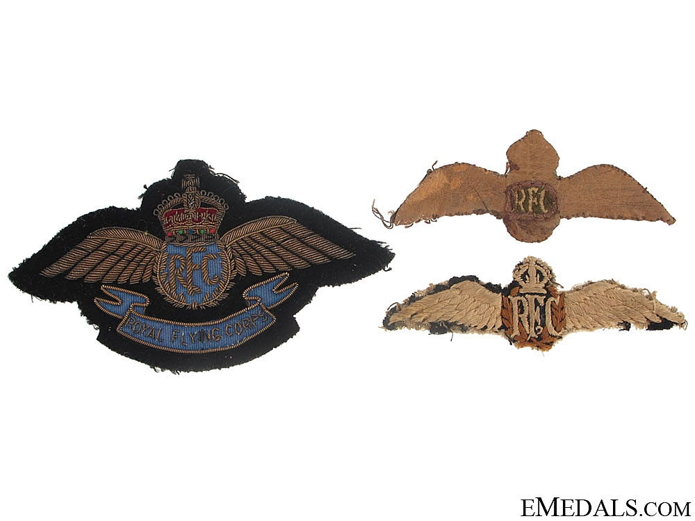 WWI Royal Flying Corps Group to Lieutenant H. Hickson, 206 Squadron