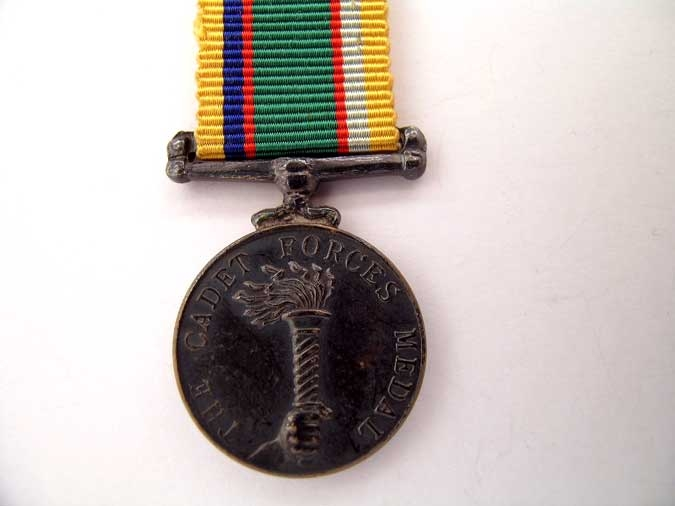 MINIATURE CADET FORCES MEDAL