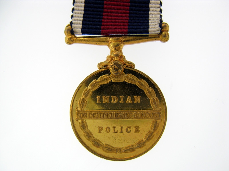 Miniature Indian Police Distinguished