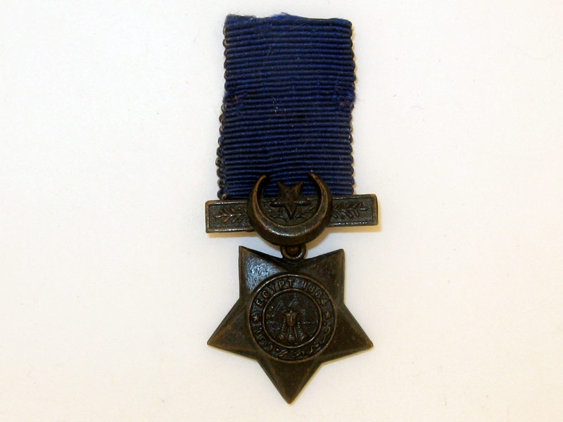 Miniature Khedive's Star,
