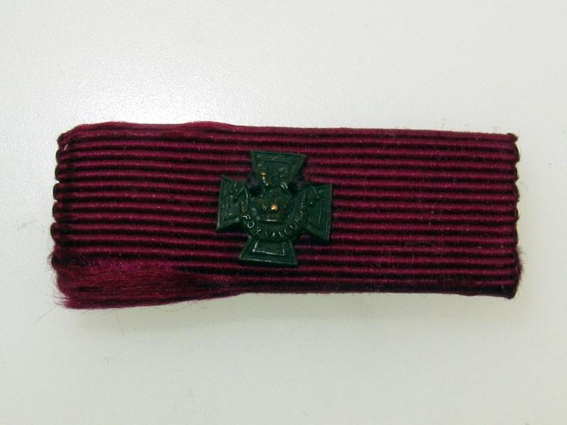 Miniature Victoria Cross Ribbon Bar