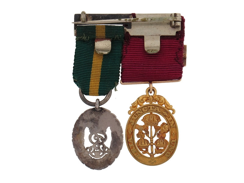 Gold Order of the Bath Miniature Medal Pair