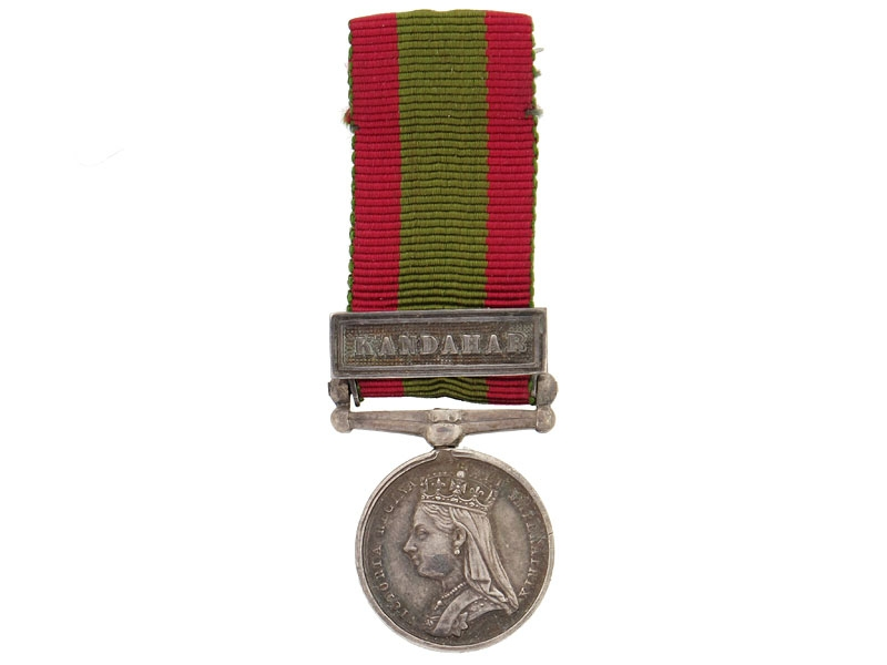 Miniature  Afghanistan Medal, 1878-1880