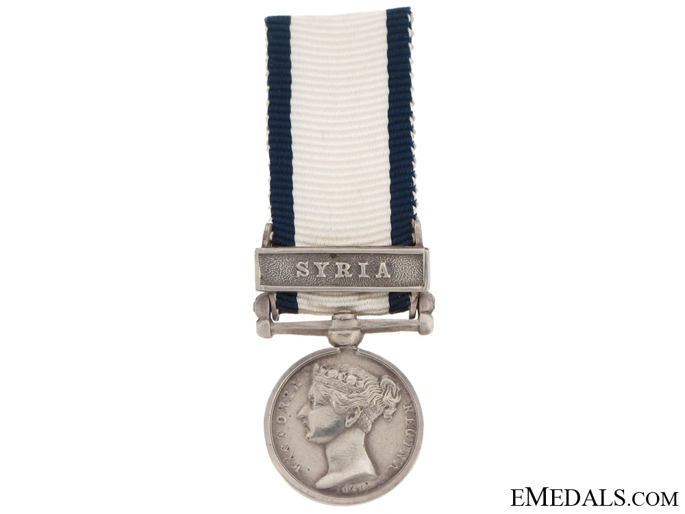 Naval General Service Medal - Syria
