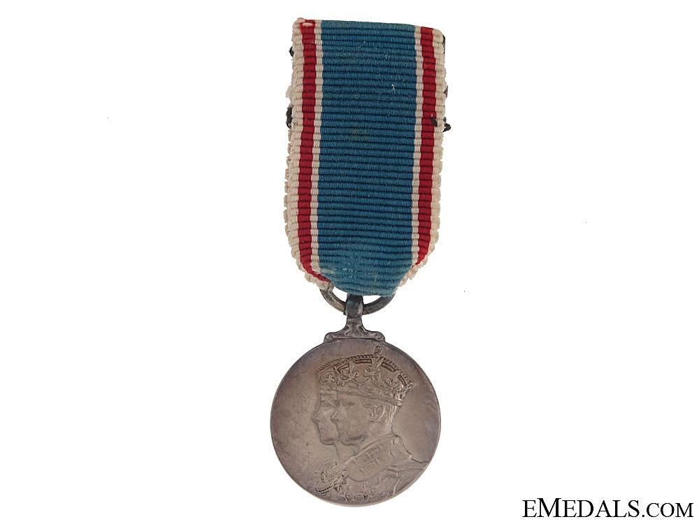 1937 Coronation Medal