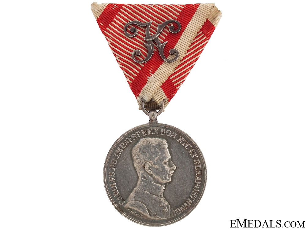 Bravery Medal - 1st Class Officiers