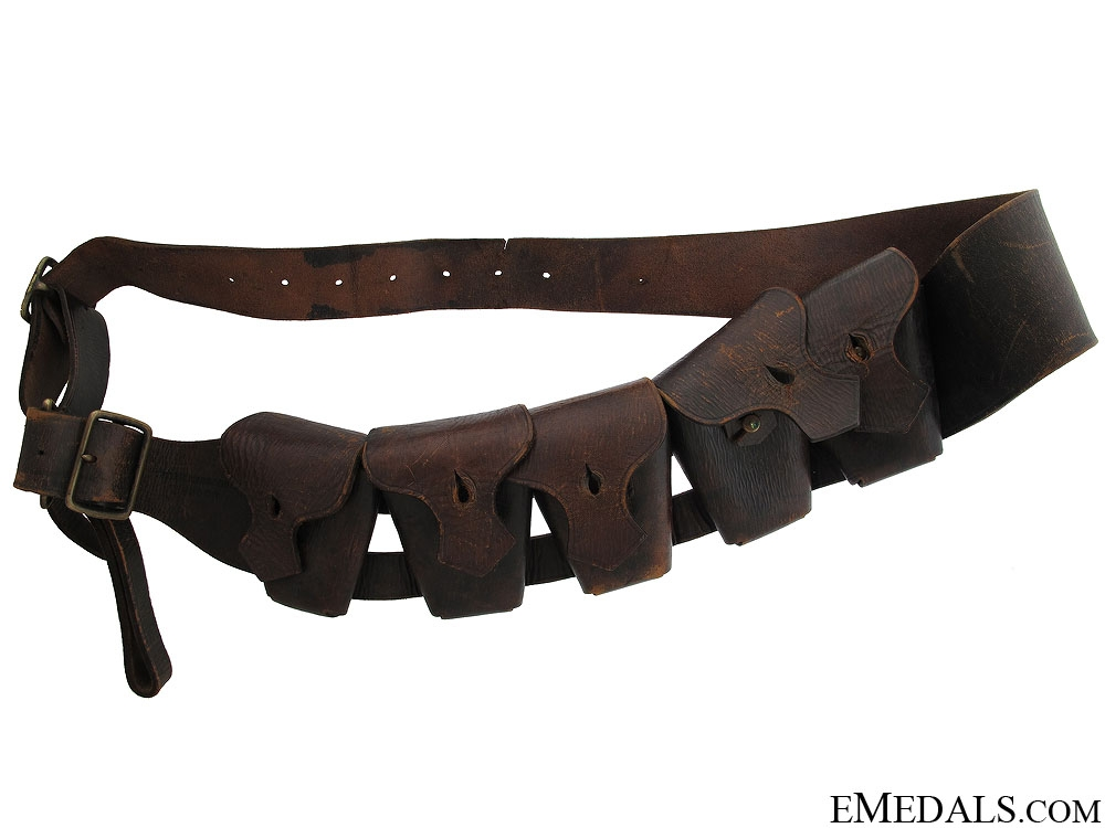 British 5 Pocket Infantryman Bandolier