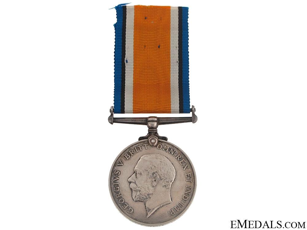 British War Medal - Royal Highlanders of Canada