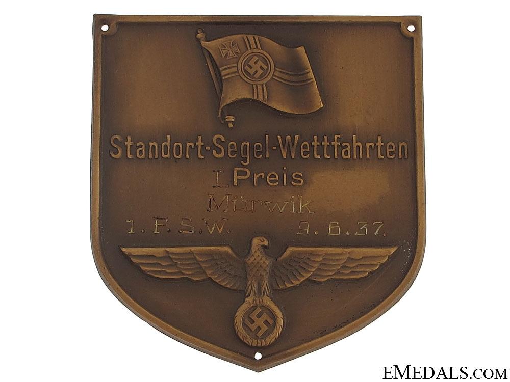 Bronze Award Plaque