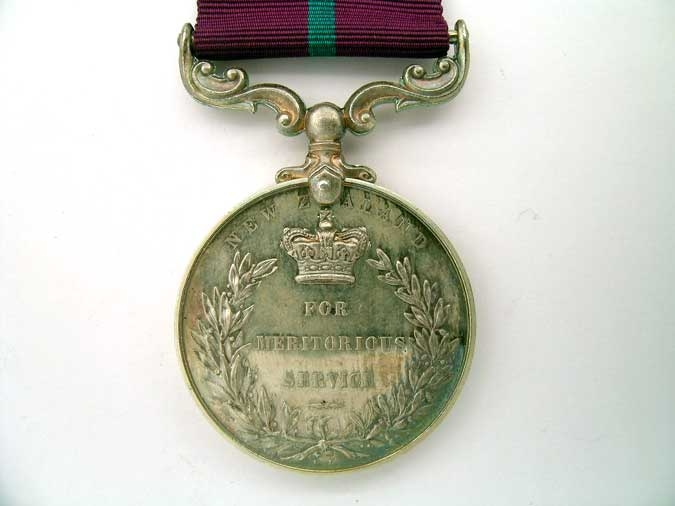NEW ZEALAND, MERITORIOUS SERVICE MEDAL