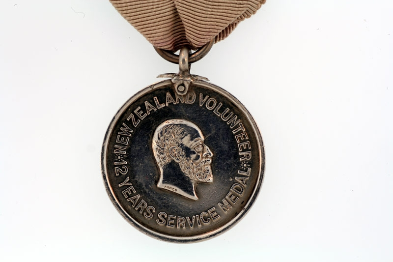 New Zealand Volunteer Service Medal,