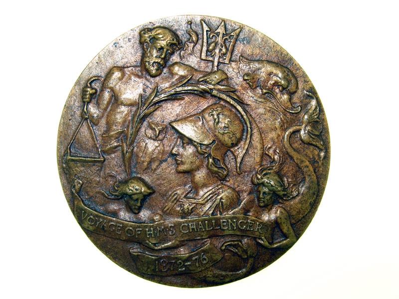 "A rare ""Challenger Medal"","