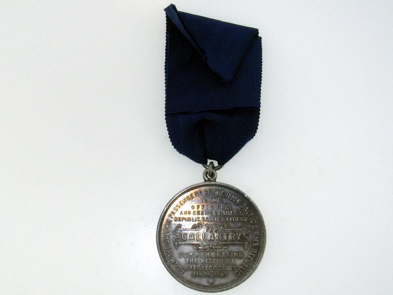 C.O.D. Medal, Silver