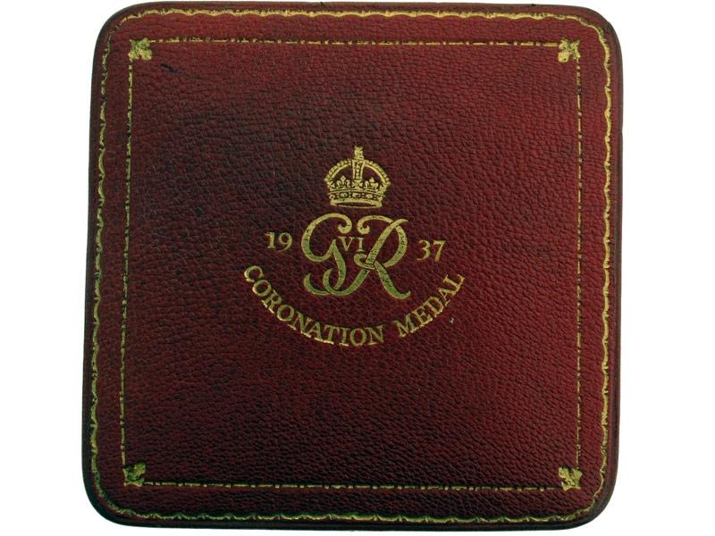 Gold 1937 King George VI Coronation Medal