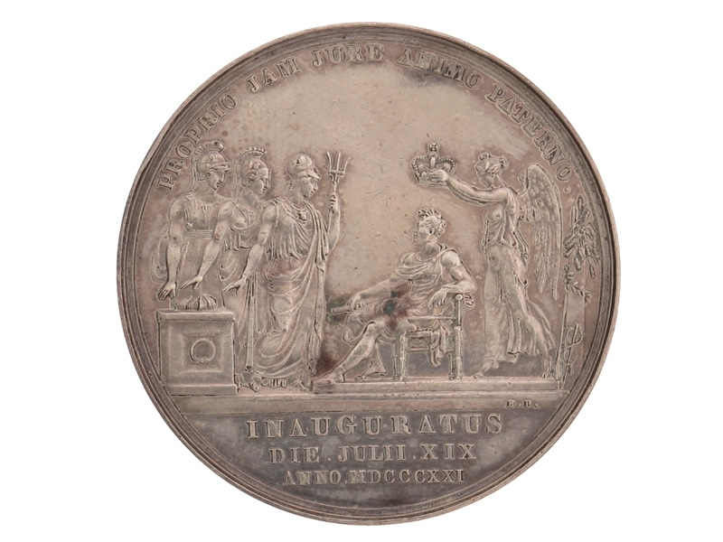 George IV Coronation Medal, 1821.