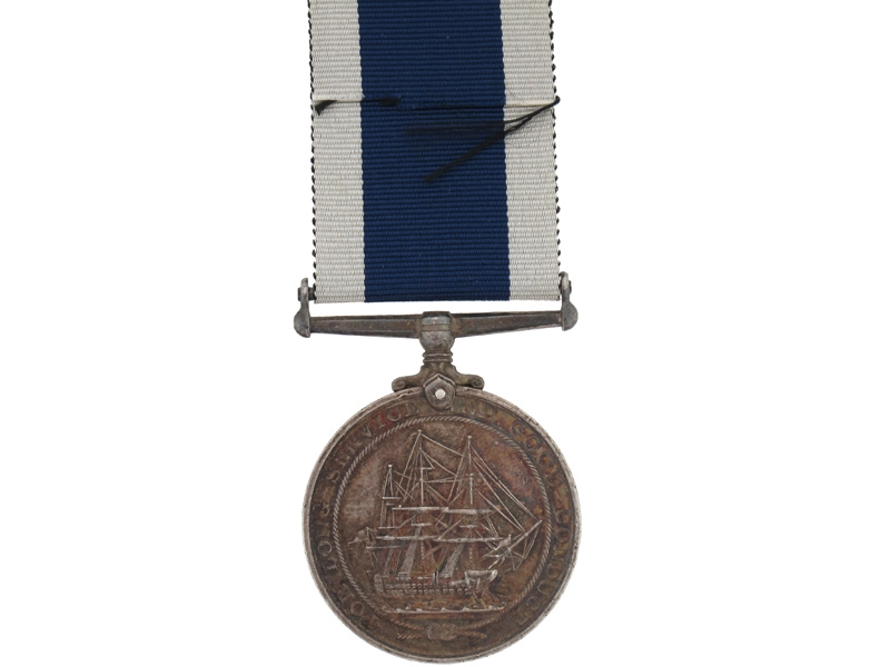 Royal Naval LS&GC Medal - H.M.S. Maidstone