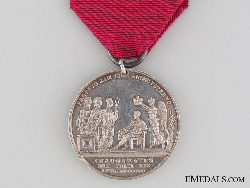 A George IV Coronation Medal to the 1st Regiment