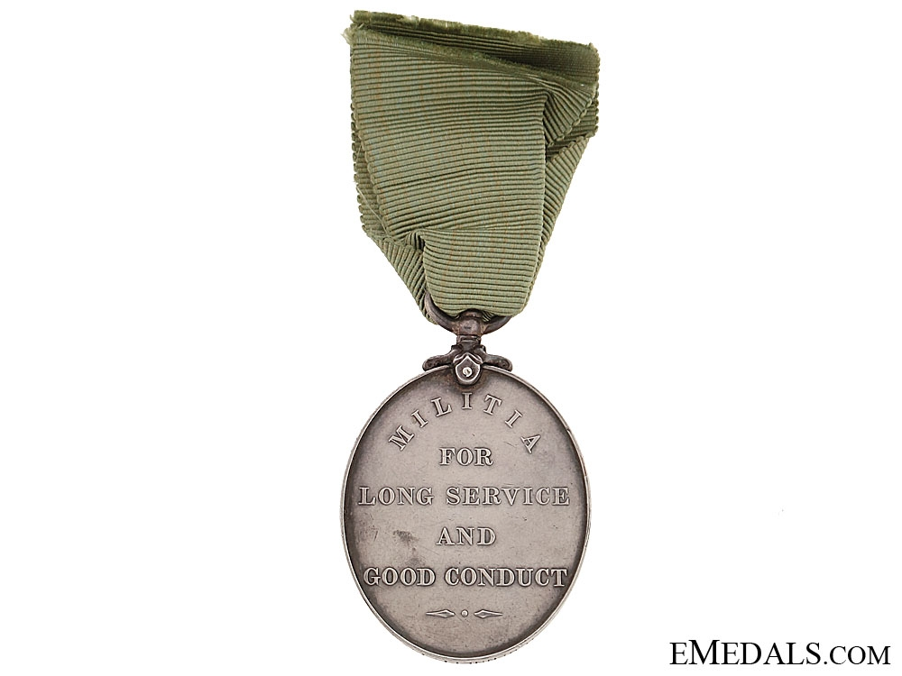Militia Long Service and Good Conduct Medal