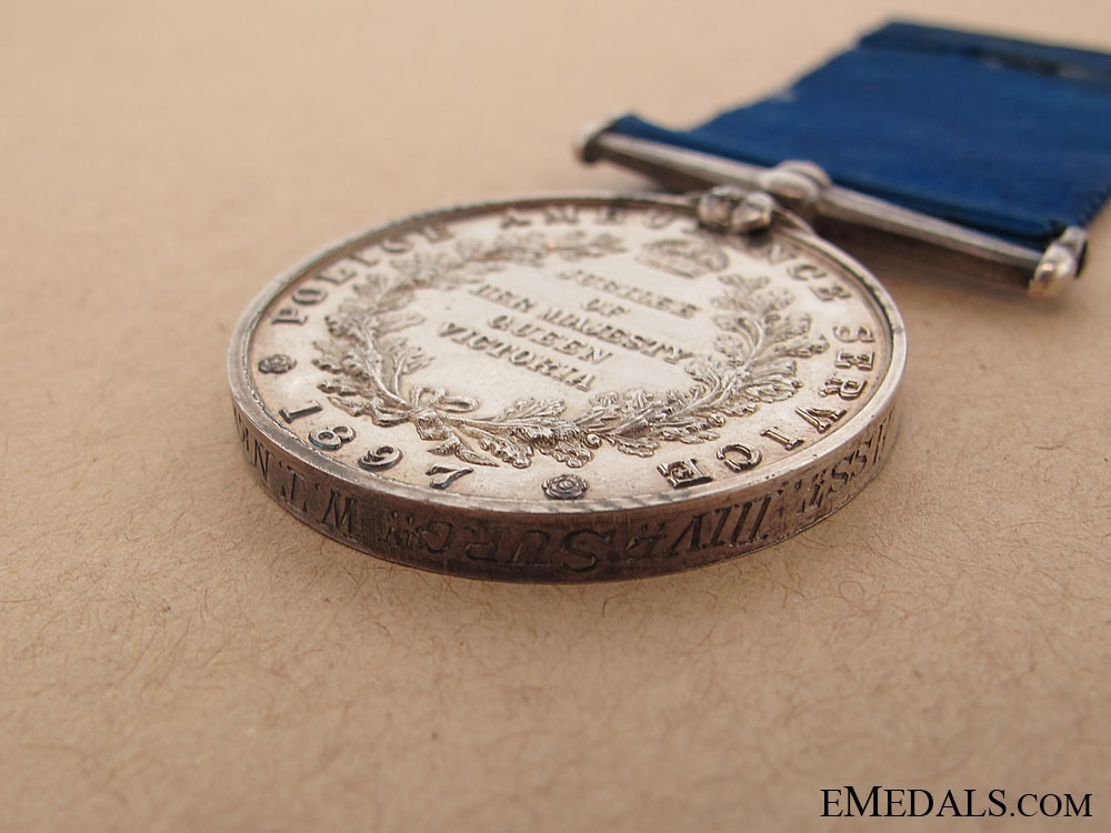 Police & Ambulance Service Jubilee Medal 1897