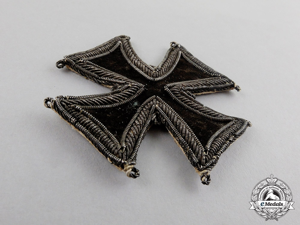 Prussia. An Extremely Rare 1813 Iron Cross 1st Class, Cloth Version