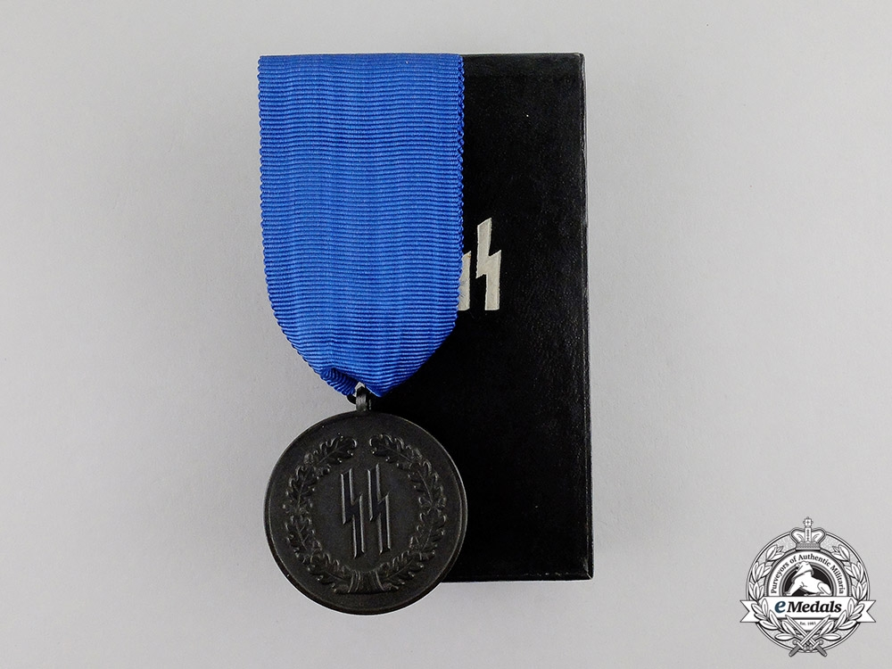 Germany. A Mint SS 4-Year Long Service Award in its Original Case of Issue