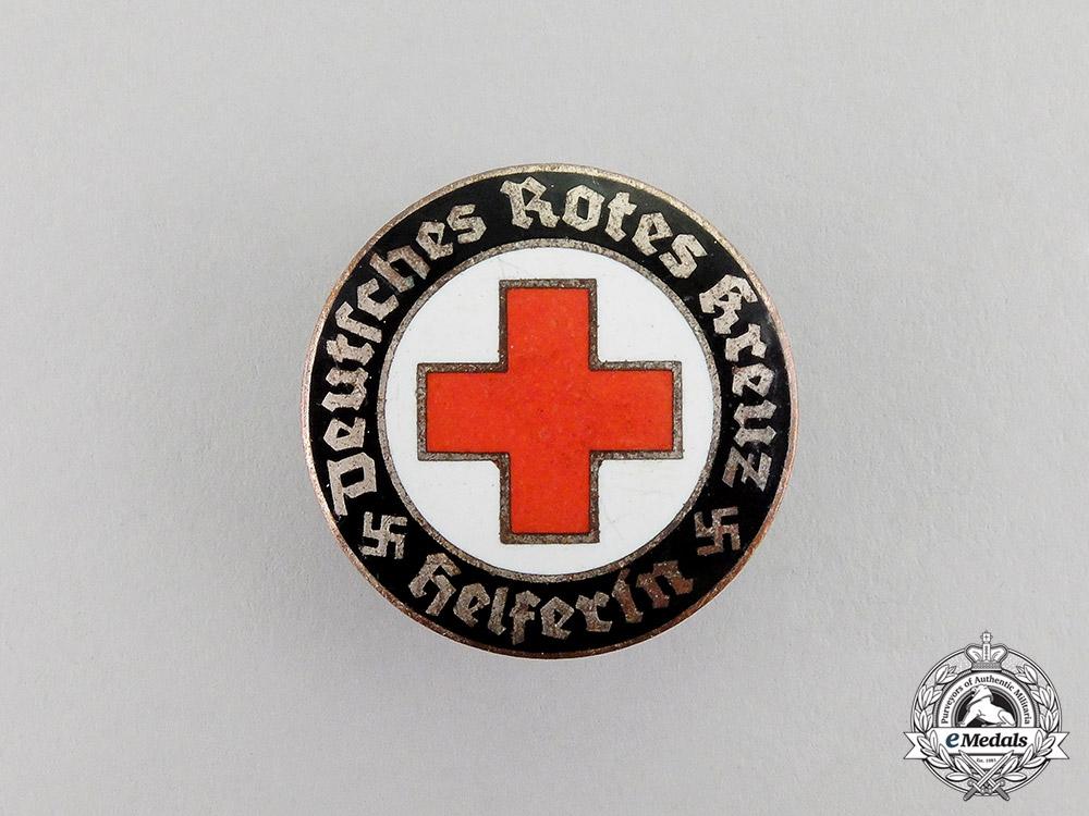 Germany. A DRK (German Red Cross) Helper Badge