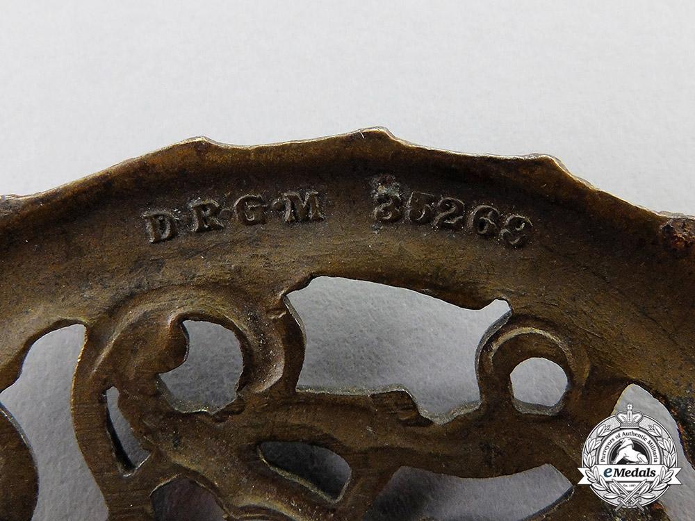 A DRL Bronze Grade Sports Badge by Wernstein of Jena