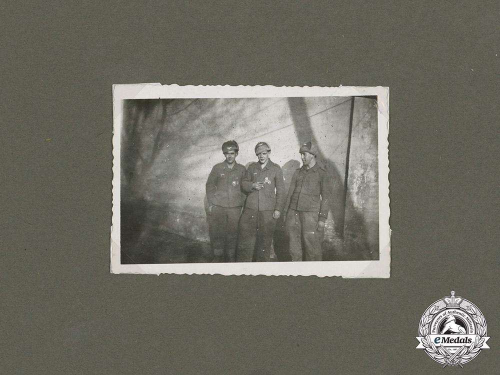 Germany, Luftwaffe. The Awards & Documents of Fallschirmjäger Schütz; Hermann Göring Div.