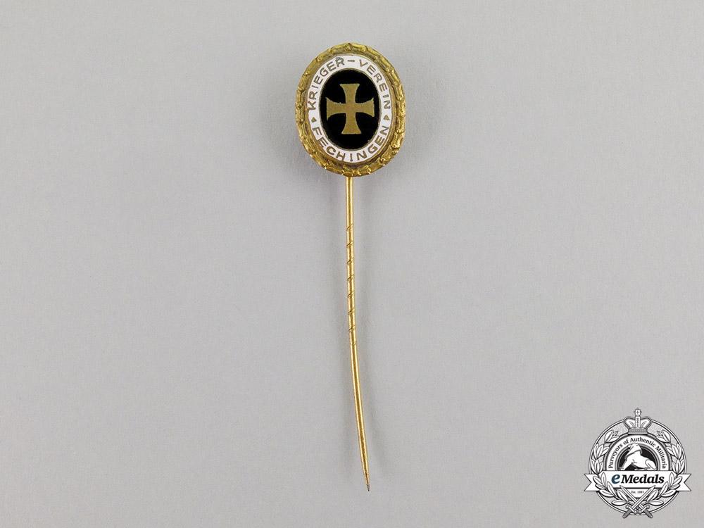 Germany. A Veteran's League Fechingen Membership Stick Pin, c.1937