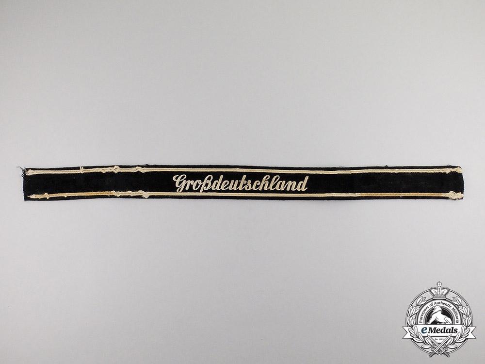 Germany. An NCO-E/M Großdeutschland Cufftitle; 4th Pattern