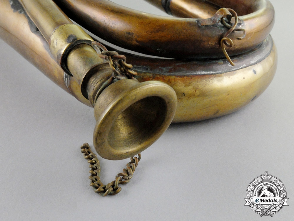 United States. An Army Cavalry Bugle