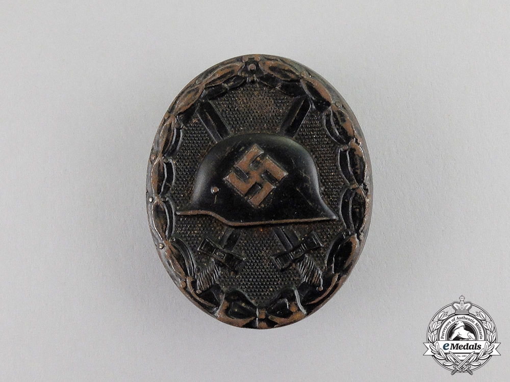 Germany. A Black Grade Wound Badge