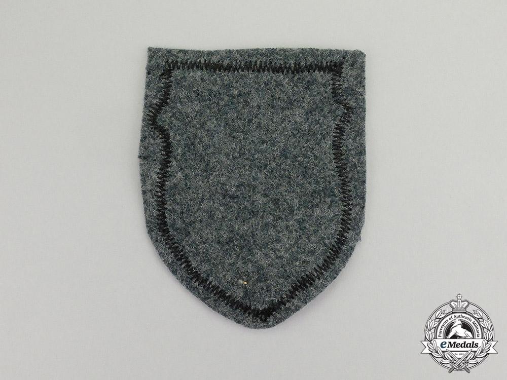 Germany. A Wehrmacht Heer (Army) Estonian Volunteer Sleeve Shield