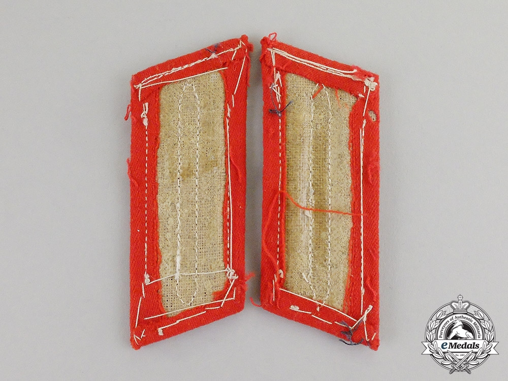 Germany. A Set of Artillery Observer Bataillion NCO School Candidate Shoulder Boards/Collar Tabs