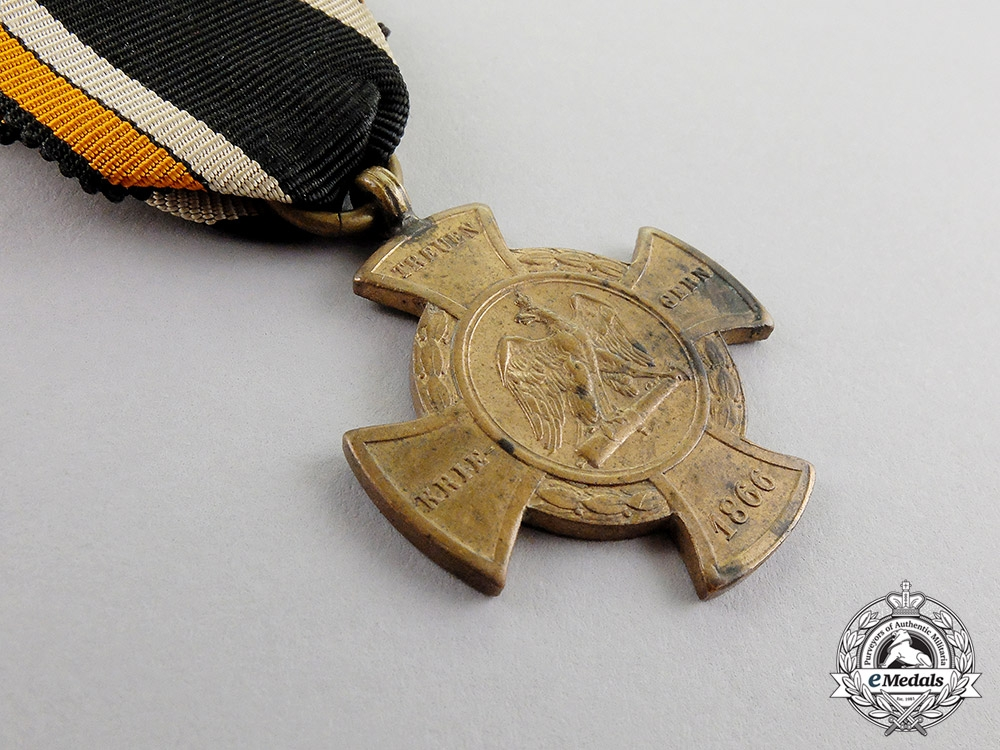 Prussia. A Commemorative Cross for the War of 1866