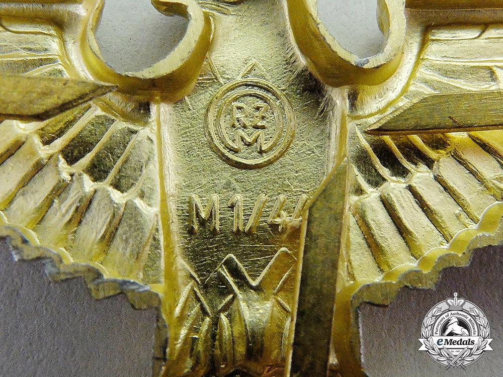 Germany. A Mint Third Reich Period NSDAP/Political Cap Eagle
