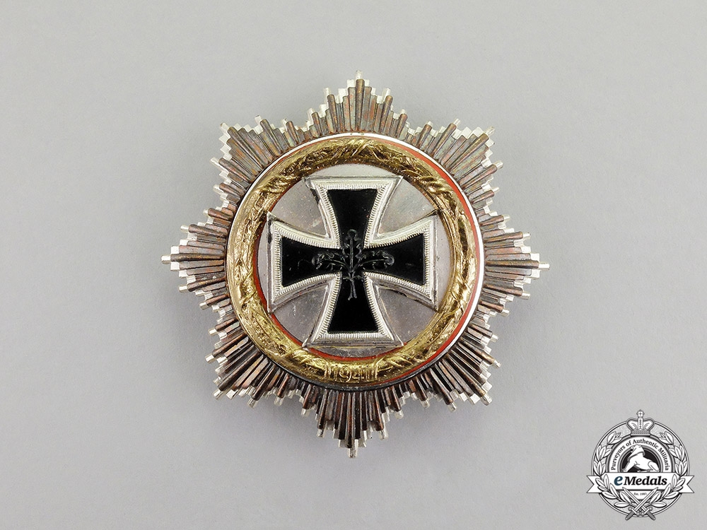 Germany. A German Cross in Gold; 1957 Version