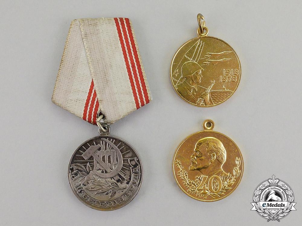 Russia, Soviet Union. A Lot of Three Awards
