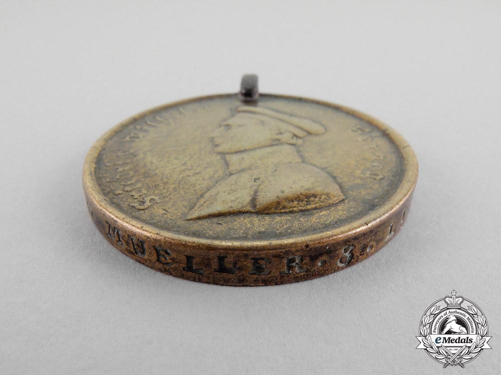 Braunschweig. A 1818 Waterloo Medal, 3 Lin Bat