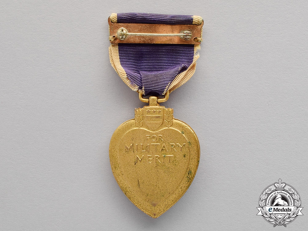 WWII American Purple Heart - Numbered
