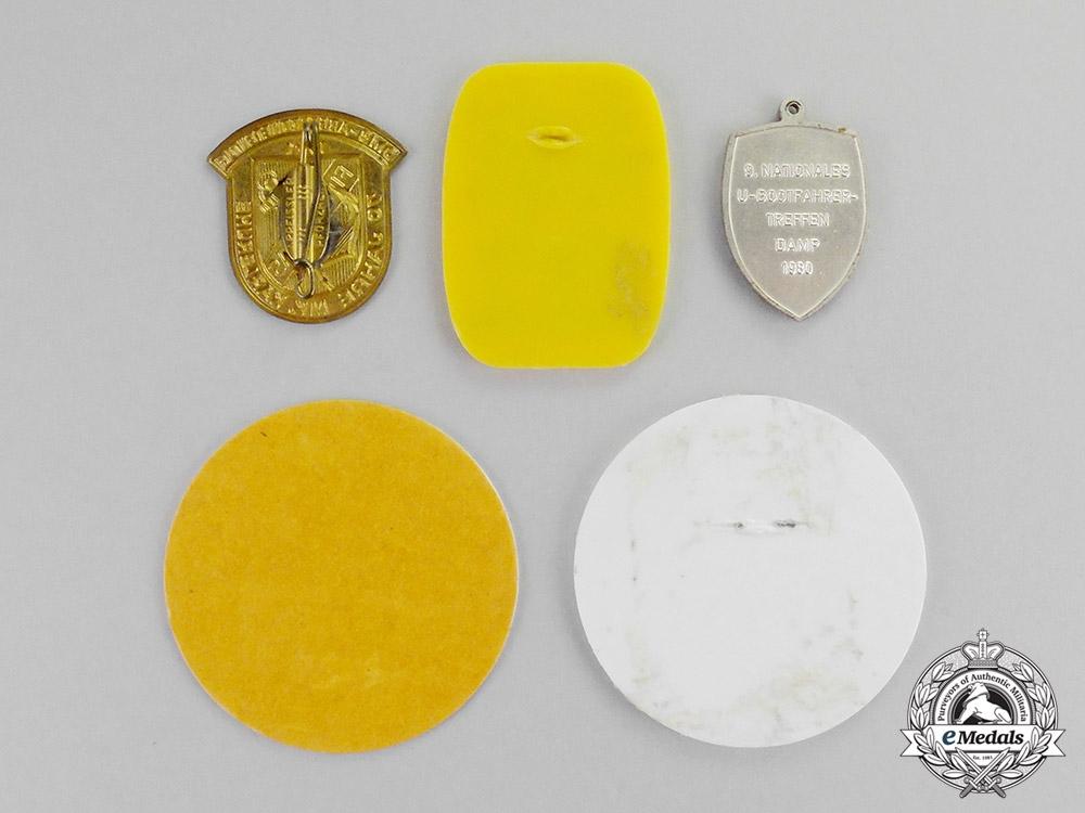 Germany. Five Post War Veteran's Organization Badges