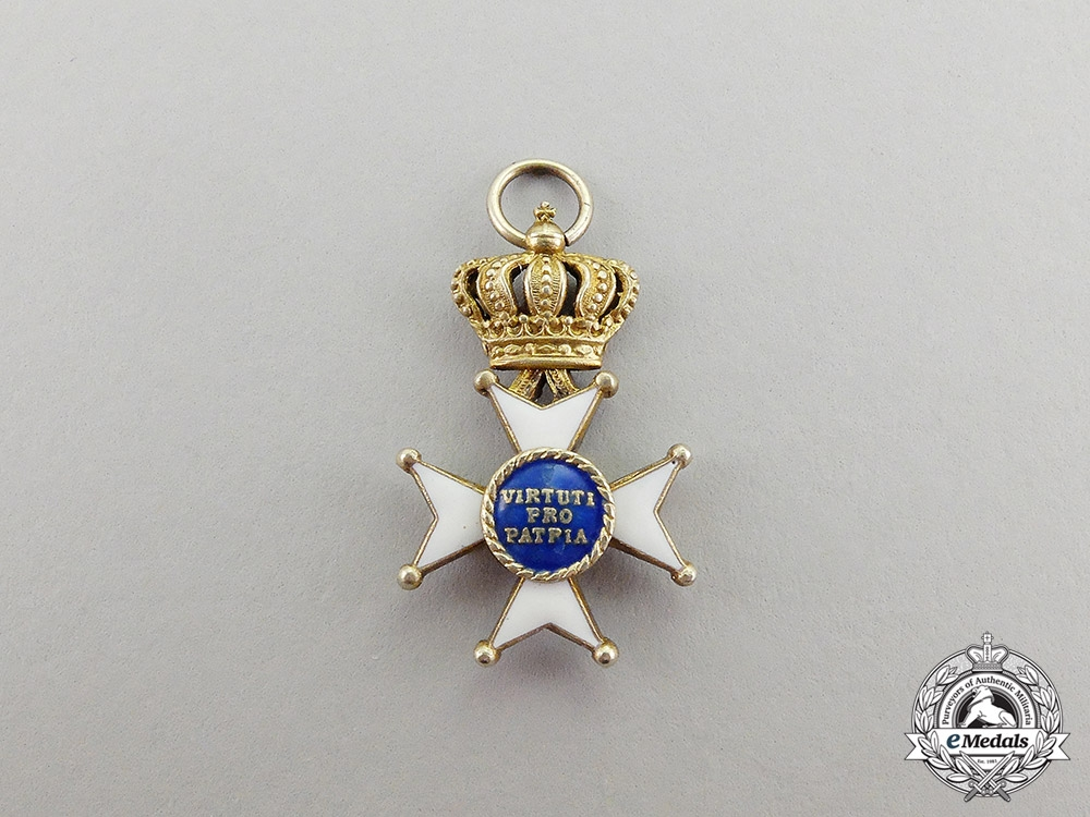 Bavaria. A Military Order of Max Joseph, Miniature Commander's Cross