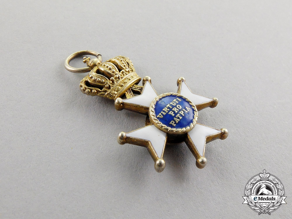 Bavaria. A Miniature Military Order of Max Joseph , Commander's Cross